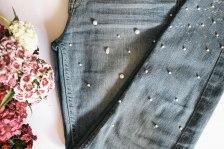 diy pearl jeans 2