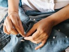 diy pearl jeans 3